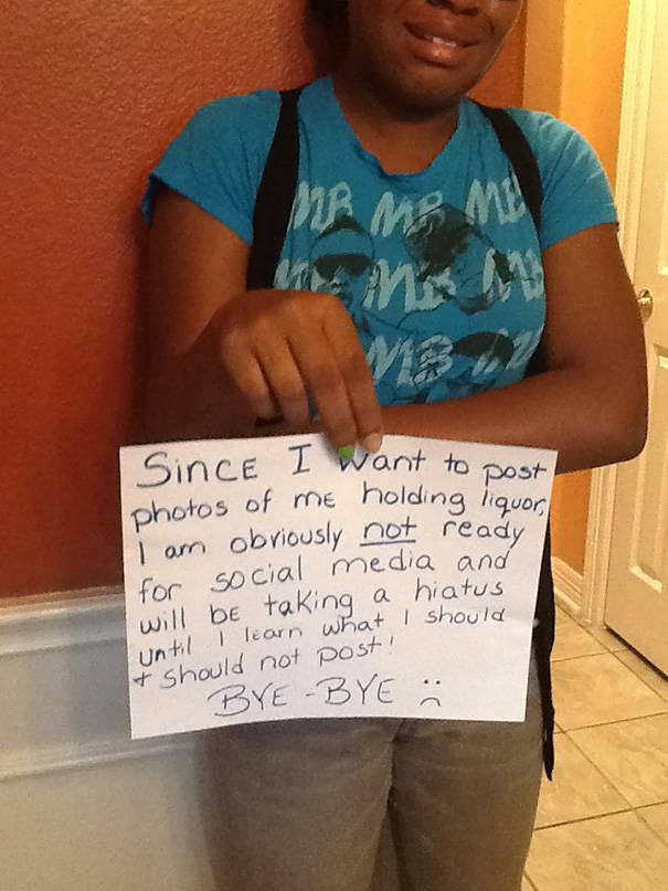Parents Who Use A Humorous Approach To Handle Their Misbehaving Kids (32 pics)