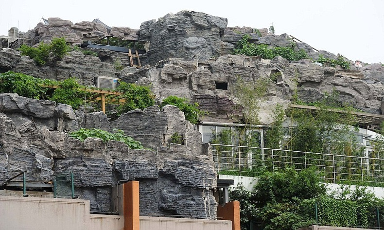 Chinese University Professor Builds Mountain Villa on Top of Apartment