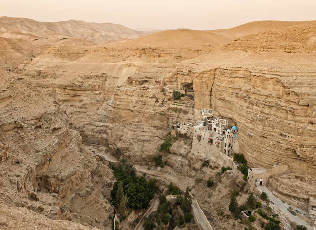 The Most Amazing Monastery of Saint George in Wadi Kelt Canyon