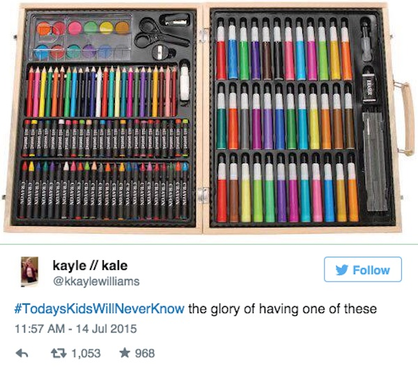 Twitter got wonderfully nostalgic with its hashtag #TodaysKidsWillNeverKnow (24 Photos)