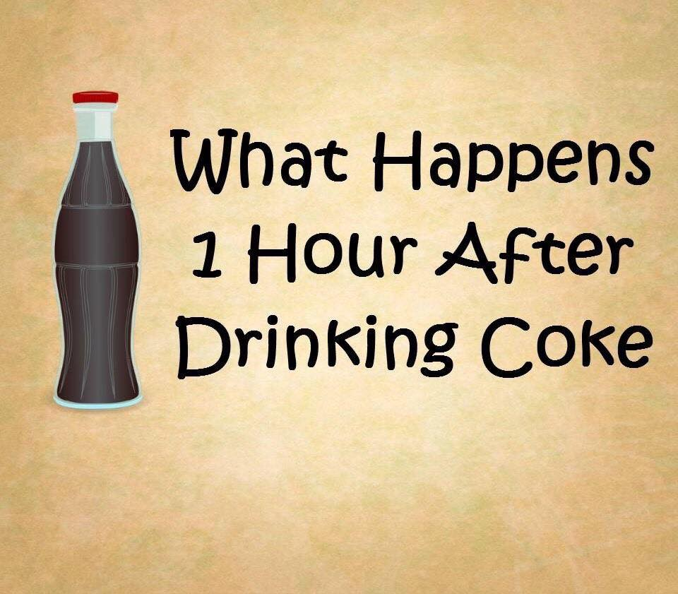What Happens 1 Hour After Drinking Coke?? (8 Pics)