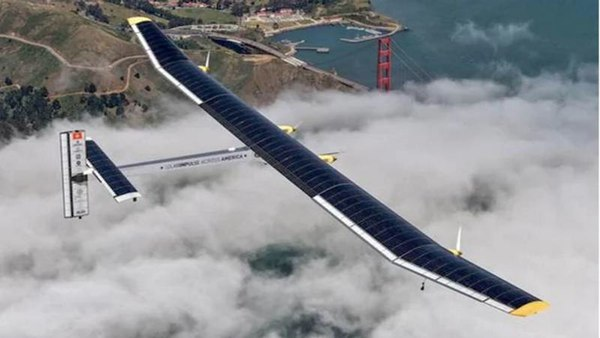 The world's largest solar-powered aircraft - Solar Impulse 2 plane completes round-the-world trip