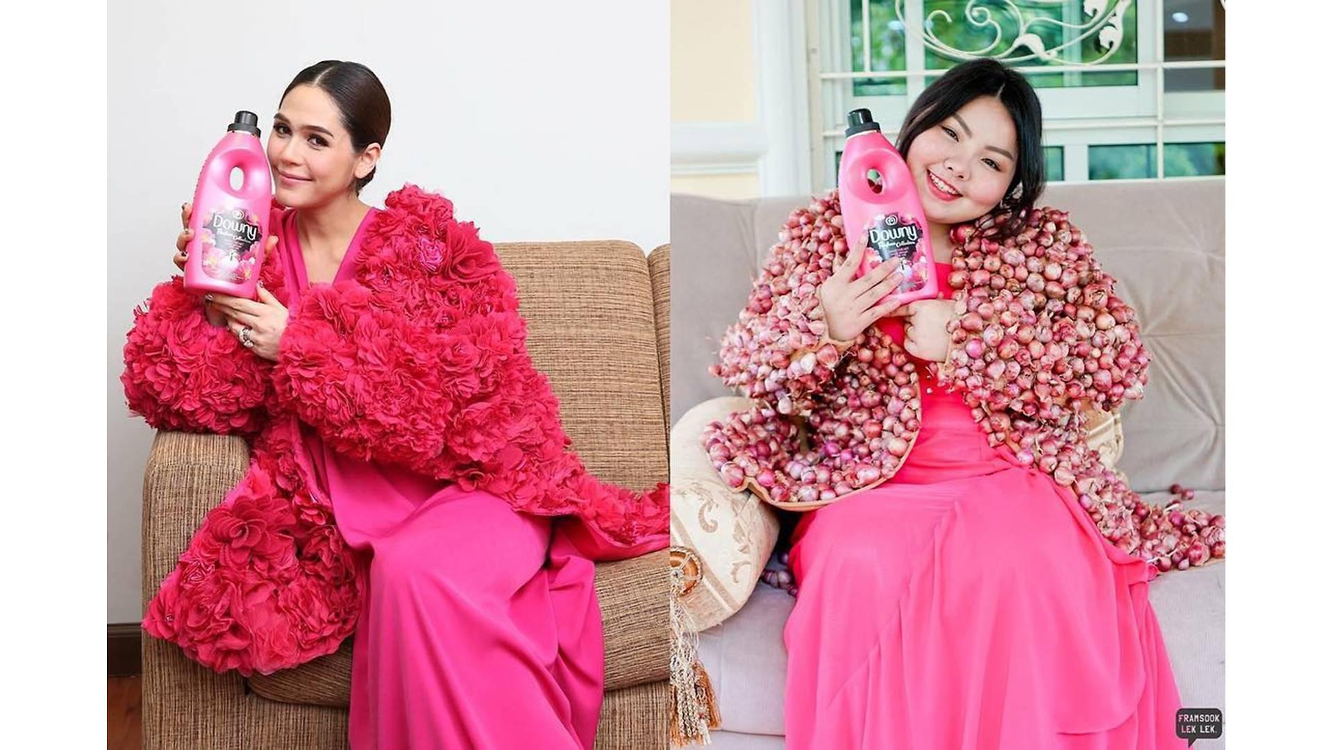 Thai Model Sine Benjaphorn Brilliantly Recreates Celebrity Styles Using Food (49 Pics)