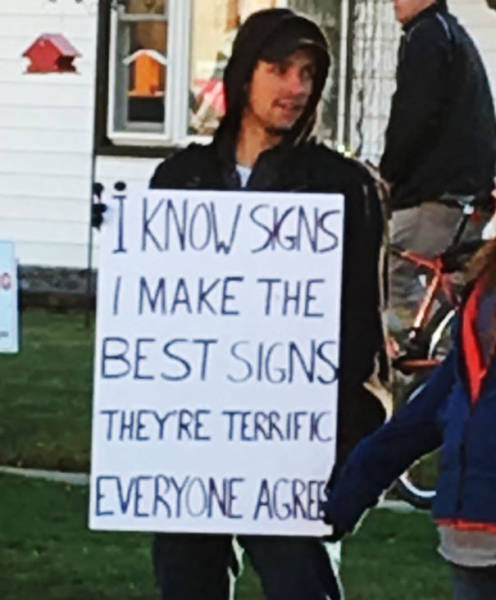 The Best Protest Signs Of All Time! - 24 Pics (Set-2)