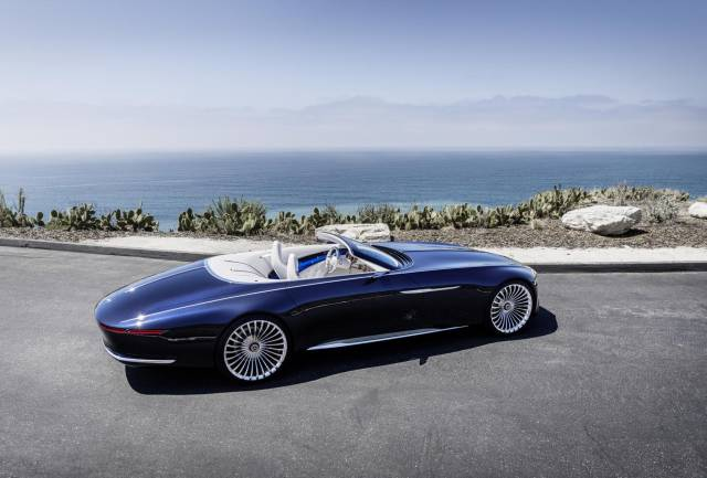 The Mercedes-Maybach 6 Cabriolet Is A Perfect Carception! (24 pics)