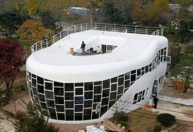 The Most Unusual House Designs Ever All Over The World - 10 Pics