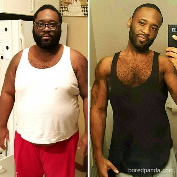 There Is Nothing You Can't Achieve When It Comes To Power Of Will. Weight Loss Included - (39 pics)