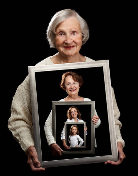 These Family Portraits Are Almost Unbelievable And Very Sweet Too (15 pics)