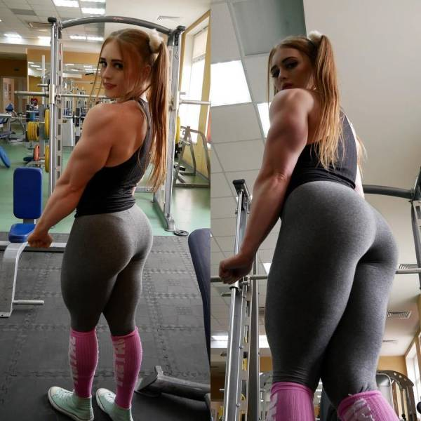 This Girl Manages To Be Incredibly Cute And Incredibly Muscular At The Same Time (36 pics)