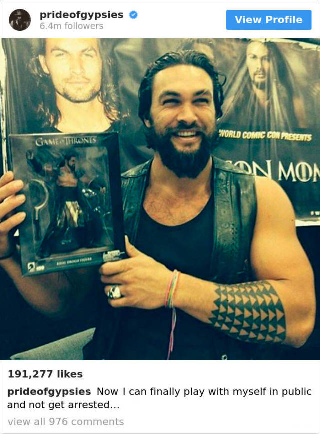 25 Reasons Why You Should Follow Jason Momoa On Instagram