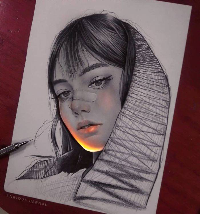 This Mexican Artist's Works Glow! (25 pics)