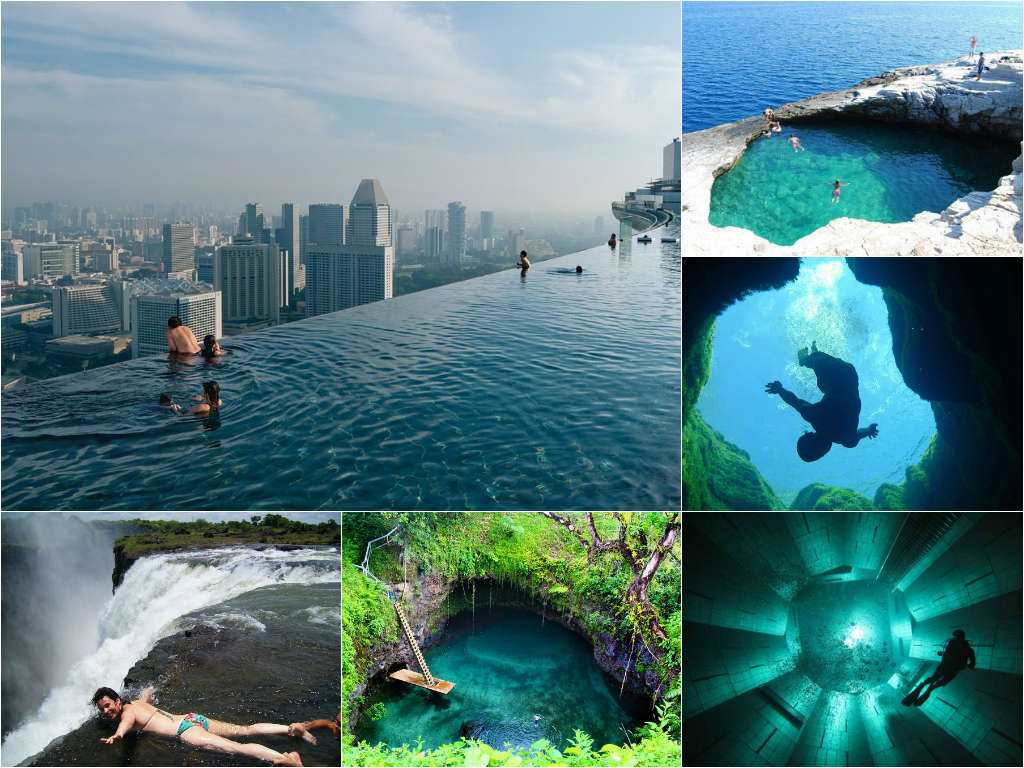 Coolest swimming pool in the world for Best swimming pools