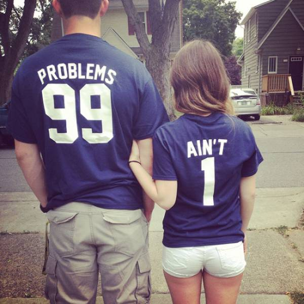 T-Shirt Pairs Show The Cutest Connection Between People (28 pics)