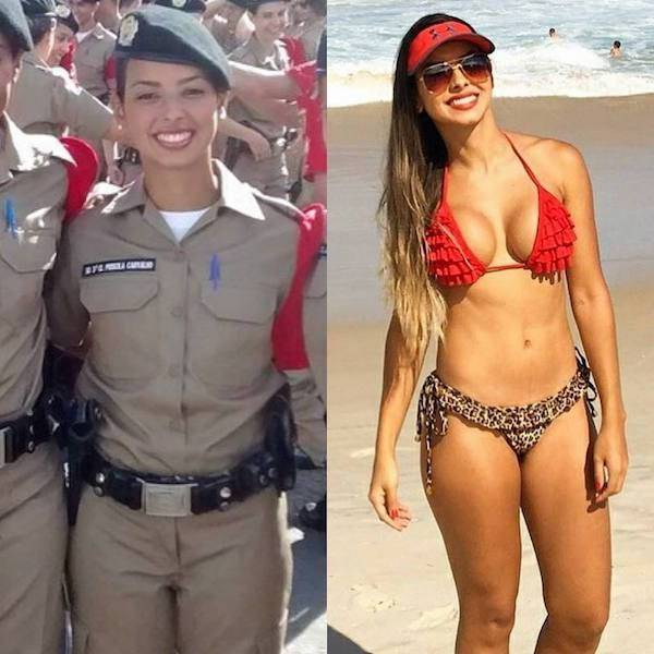 Uniform Makes Them Even Sexier! (50 pics)