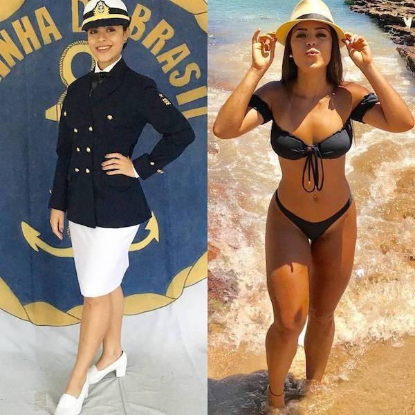 Uniform Makes Them Even Sexier! (50 pics)