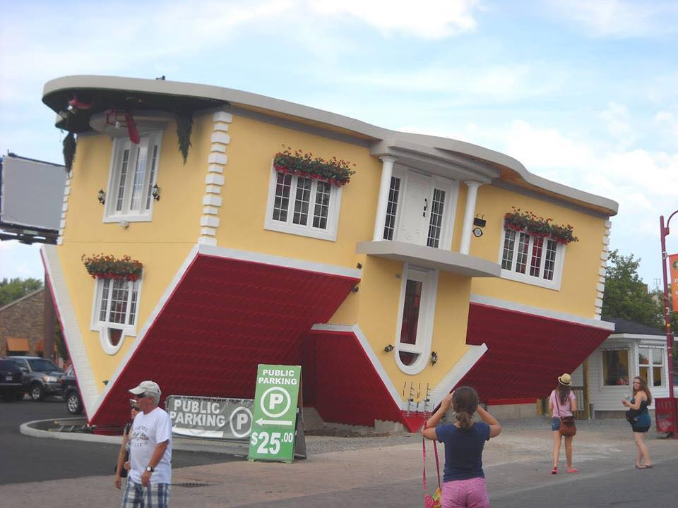 17 Awesome Upside Down Buildings In The World