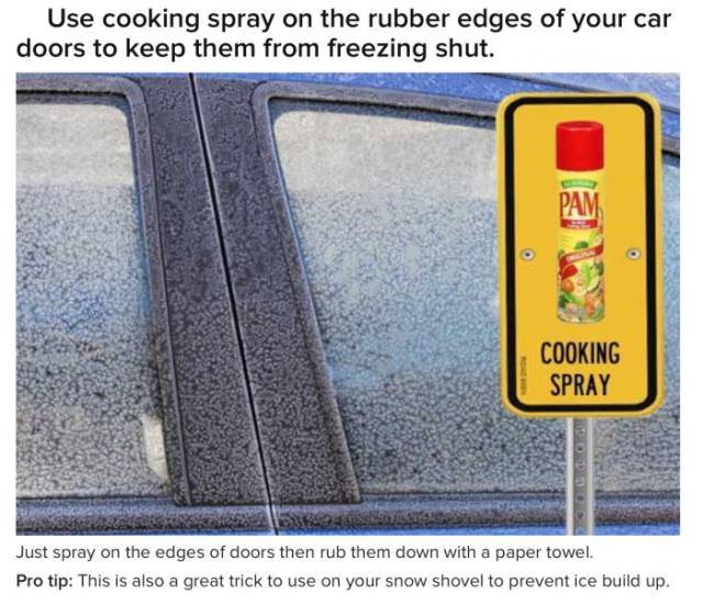 Useful Tips And Tricks For Drivers To Help You Get Through This Winter (18 pics)