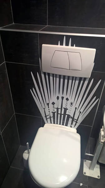 We Don't Always Realize The Sh#t Toilets Must Have Seen (17 pics)