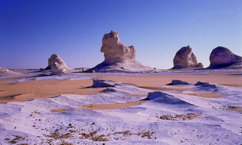 Most Amazing and Beautiful White Desert in Egypt