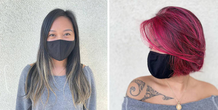 OMG: Women Who Went For Unusual Hair Colors (27 Pics)