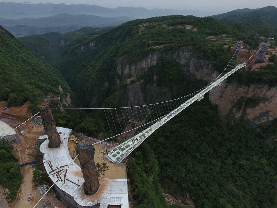 World's Longest Glass-Bottomed Bridge Closes