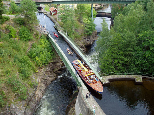 Amazing Aqueduct and the Dalsland Canal