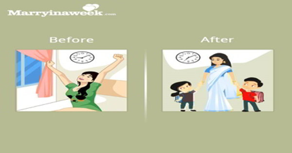 Image result for womens lifestyle changes-after-marriage